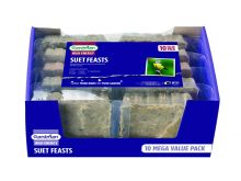 Gardman Suet Feasts (10 Value Pack)