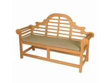Bramblecrest Lutyens 3 Seat Bench Cushion - Taupe