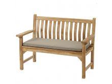 Bramblecrest 2 Seat Bench Cushion - Taupe