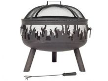 La Hacienda Wildfire Steel Firepit