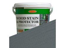 Protek Wood Stain and Protector - Gun Metal Grey - 2.5L
