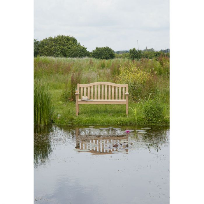Enjoyable Alexander Rose Roble Turnberry Bench 4Ft Pabps2019 Chair Design Images Pabps2019Com