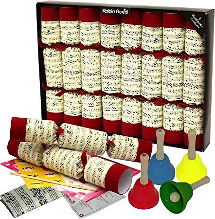 christmas crackers with bells